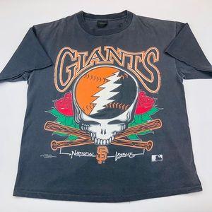 Vtg 90s Grateful Dead x San Fransisco Giants Shirt